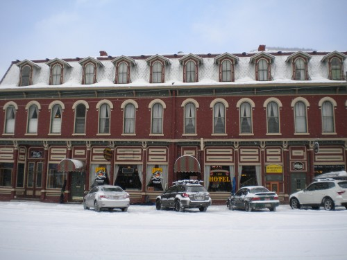The Grand Imperial Hotel, Silverton, Colo. Often our home for New Year's Eve